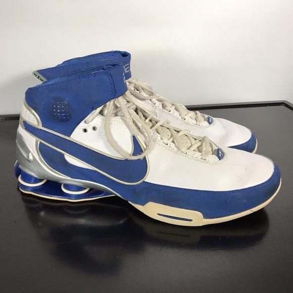 Nike Shox Elite Family basketball shoes, Sz 17